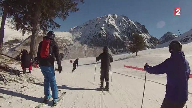 Vacances en montagne: au Grand Tourmalet les pistes sont prêtes