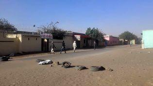 Une rue d'El-Geneina, dans le Darfour-Ouest, au Soudan, le 20 janvier 2020. (AFP)
