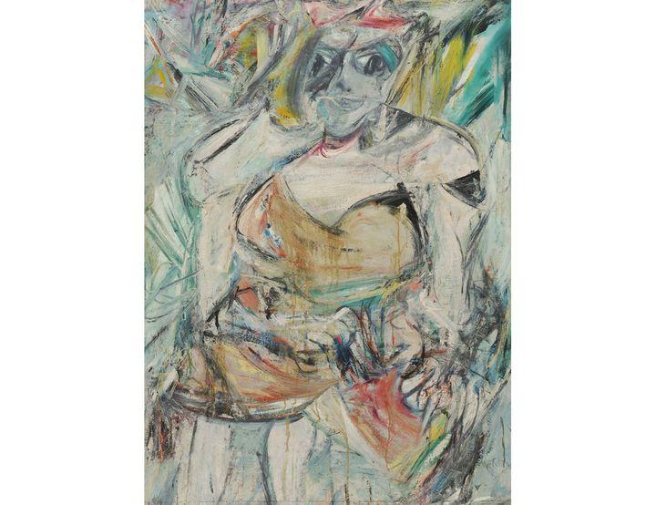 Willem De Kooning (1904 -1997), Femme II (Woman II), 1952, Museum of Modern Art (MoMA), don de Blanchette Hooker Rockefeller, 1955 Artwork (© The Willem de Kooning Foundation, Adagp, Paris, 2021, Digital image, The Museum of Modern Art, New York / Scala, Florence)