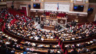 Séance hebdomadaire des questions au gouvernement le 2 février 2016 à l'Assemblée nationale. (CHAMUSSY / SIPA)