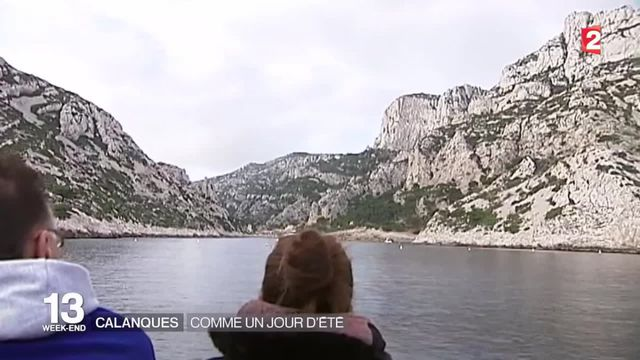 Marseille : les touristes se pressent pour visiter les calanques