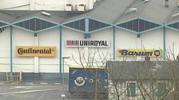 L'usine Continental à Clairoix emploie 1.200 salariés. (© France)