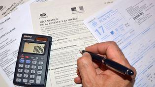 Le prélèvement à la source entrera en vigueur le 1er janvier 2019 pour les contribuables français. (ALLILI MOURAD / SIPA)