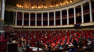 L'Assemblée nationale, le 26 mai 2020. (CHRISTOPHE ARCHAMBAULT / AFP)