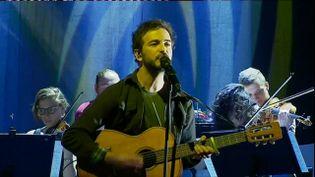 Renan Luce en résidence à la Coursive (P. Simon / France Télévisions)