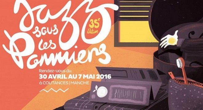 L'affiche du 35ème Jazz sous les Pommiers  (France 3)