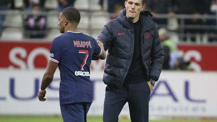 Thomas Tuchel envisage de laisser Mbappé au repos contre Dijon (JUAN SOLIZ / JUAN SOLIZ)