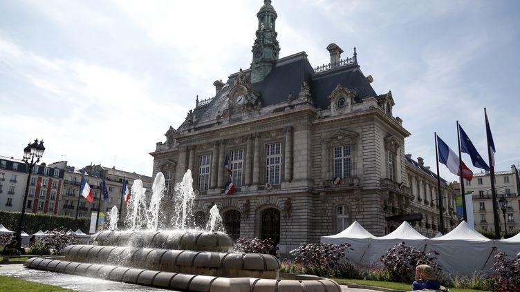 La mairie de Levallois-Perret (Hauts-de-Seine), le 14 septembre 2019. (ZAKARIA ABDELKAFI / AFP)