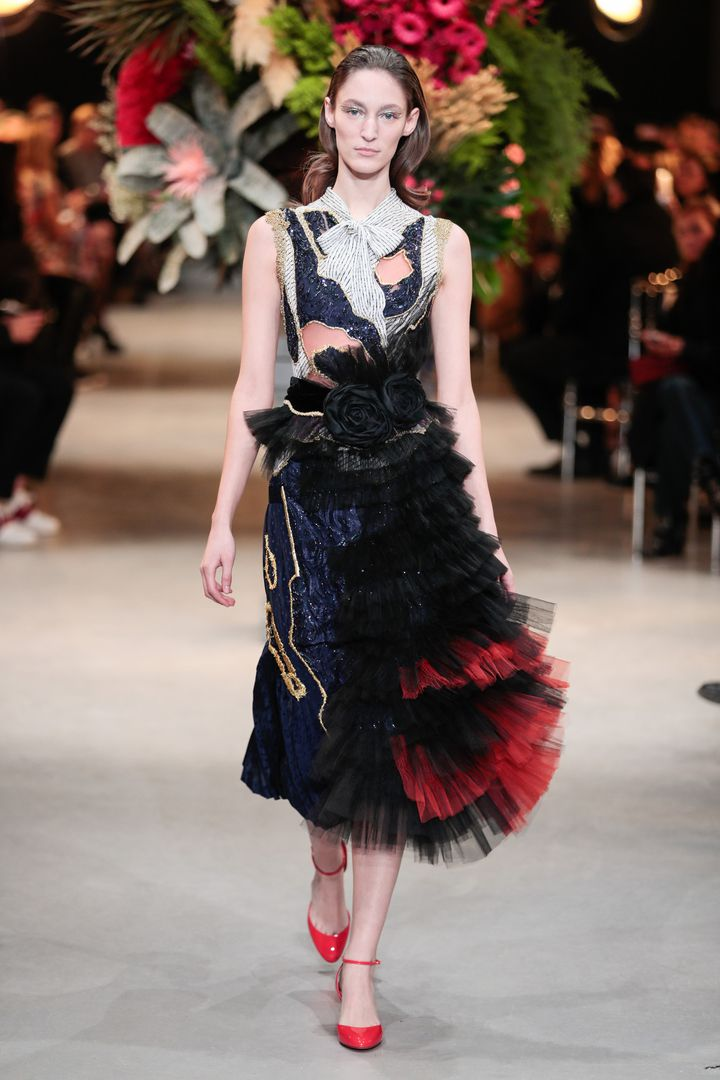 Viktor & Rolf haute couture printemps-été 2017, à Paris, janvier 2017  (Team Peter Stigter)