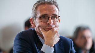 Stéphane Troussel, président (PS) du Conseil départemental de Seine-Saint-Denis, le 13 février 2020. (AURELIEN MORISSARD / MAXPPP)