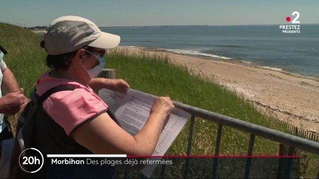 Morbihan : des plages interdites quelques jours seulement après la réouverture
