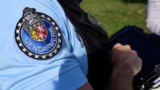Un gendarme effectuant un contrôle (illustration). (JEAN-PIERRE CLATOT / AFP)