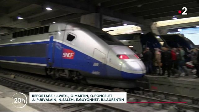 Week-end de Noël : des incertitudes face aux trains de la SNCF