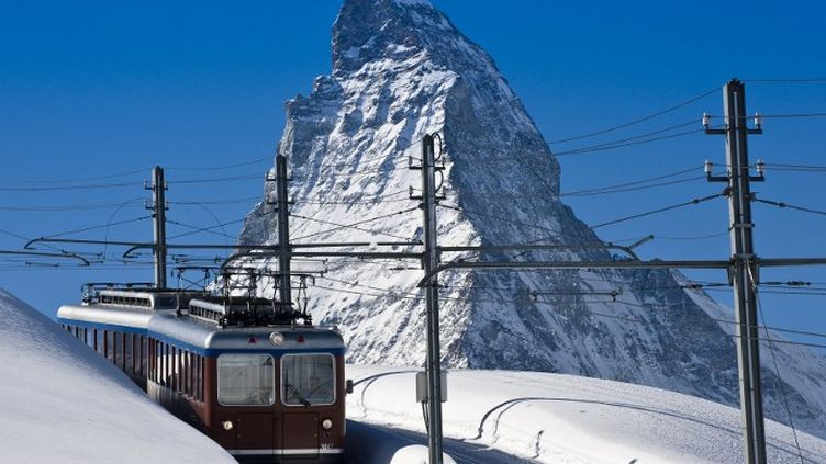Derrière la carte postale, la Suisse offre un réseau ferré ultramoderne. (AFP)