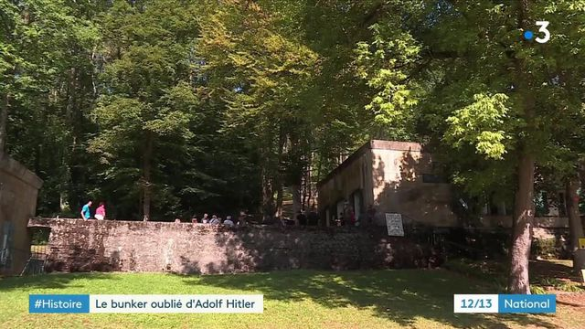 Aisne : un ancien bunker d'Adolf Hitler à Margival