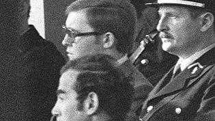 Patrick Henry le 18 janvier 1977 au tribunal de Troyes (Aube). (AFP)