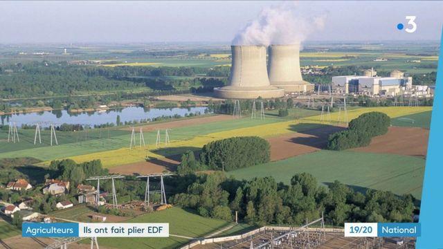 Nucléaire : des agriculteurs font plier EDF