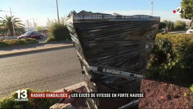 Sécurité routière : les radars vandalisés ont favorisé la hausse des excès de vitesse