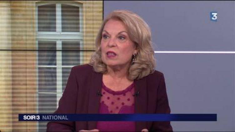 Danielle Sportiello, du service politique de France Télévisions. (FRANCE 3)