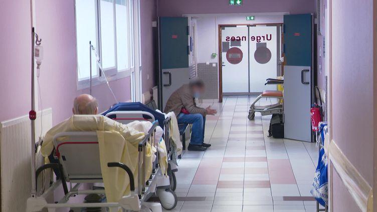 A l'hôpital de Montreuil, il ne restait, ce jeudi 1er octobre, plus que 4 lits disponibles en réanimation. (France Télévisions)