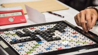 Les championnats du monde de Scrabble au Grand Palais, à Lille, le 29 août 2016. (DENIS CHARLET / AFP)