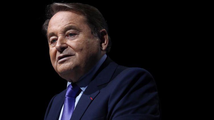 André Laignel, maire d'Issoudun et vice-président del'Associaiton des maires de France,le 19 novembre 2019. (IAN LANGSDON / POOL)