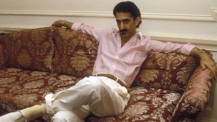 Frank Zappa en 1982  (MARCELLO MENCARINI / Leemage)
