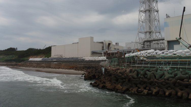 Les abords de la centrale nucléaire de Fukushima (Japon), victime du tsunami de mars 2011 (image diffusée le 30 juin par l'opérateur de la centrale, Tepco). (AFP)