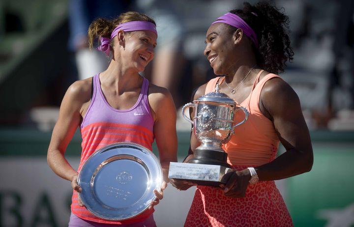 Lucie Safarova, finaliste vaincue par Serena Williams à Roland-Garros (2015).  (CHEN XIAOWEI / NURPHOTO)