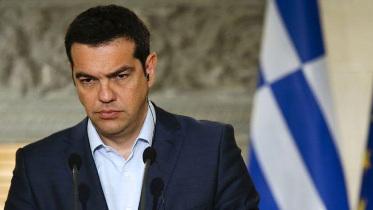 (Avec ses nouvelles réformes, Alexis Tsipras a perdu la confiance de ses électeurs © REUTERS/Paul Hanna)