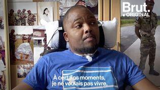 VIDEO. Le témoignage poignant de Loïc Liber, seul militaire survivant de l'attaque de Mohamed Merah (BRUT)