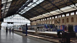 La gare Saint-Charles, à Marseille, le 23 mai 2018. (GERARD BOTTINO / CROWDSPARK / AFP)