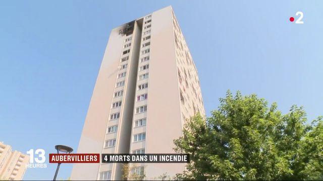 Aubervilliers : 4 morts dans un incendie