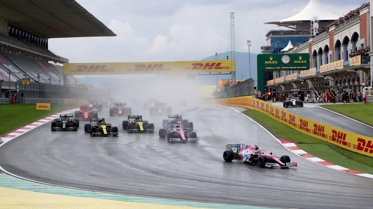 Le Grand Prix de Turquie en novembre 2020. (TOLGA BOZOGLU / AFP)