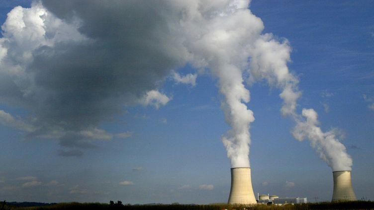 La centrale nucléaire de Golfech(Tarn-et-Garonne). (ERIC CABANIS / AFP)