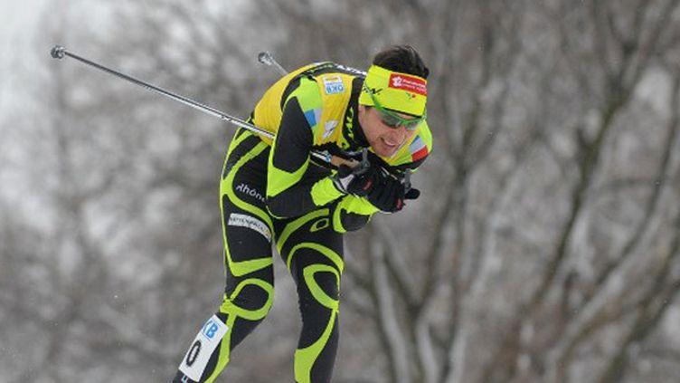 La délégation française de ski nordique compte sur sa star, Jason Lamy-Chappuis, pour remporter l'or en Italie. (MICHAL CIZEK / AFP)