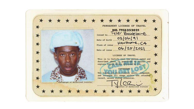 Couverturede l'album du rappeur Tyler, The Creator, intitulé Call Me If You Get Lost, disponible le 25 juin 2021 (TYLER, THE CREATOR / TWITTER)