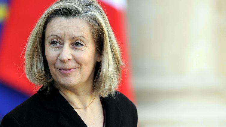 Hélène Conway-Mouret, au palais de l'Elysée. (/NCY / MAXPPP)