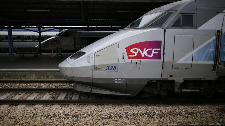 (La SNCF cherche à alerter sur la situation des TGV © REUTERS / Stéphane Mahe)