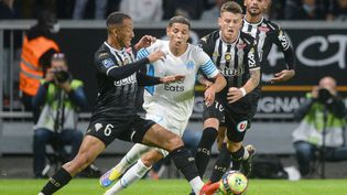 Angers et l'OM se neutralisent pour le compte de la 7e journée de Ligue 1. (JEAN-FRANCOIS MONIER / AFP)