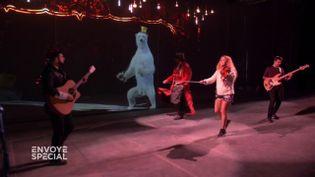 Envoyé spécial. Des hologrammes pour remplacer les animaux des cirques (ENVOYÉ SPÉCIAL  / FRANCE 2)