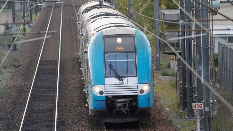Les cheminots seront en grève, le 12 décembre 2013. La SNCF prévoit six TER sur dix. (FABRICE ELSNER / 20 MINUTES / SIPA)