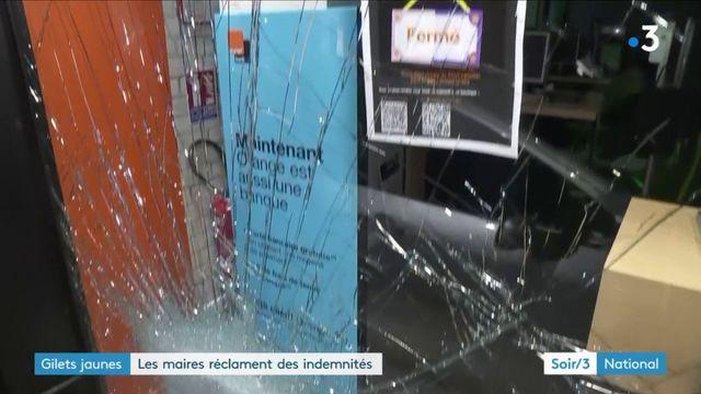 """""""Gilets jaunes"""" : les commerçants et les maires n'en peuvent plus des violences"""