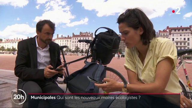Municipales : qui sont les nouveaux maires Léonore Moncond'huy et Grégory Doucet ?