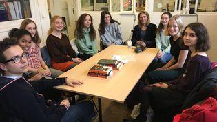 Le jury de la catégorie Fiction ado, délibérations, le 27 novembre 2019 (Laurence Houot / franceinfo Culture)