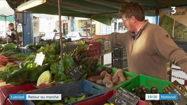 Rouen : un mois après l'incendie à Lubrizol, les produits agricoles sont de retour