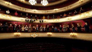 La troupe de la Comédie-Française rend hommage à Molière pendant le confinement (Comédie-Française)