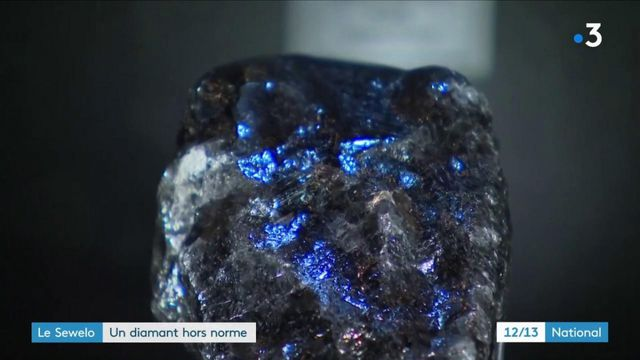 Luxe : le groupe LVMH acquiert le Sewelo, le deuxième plus gros diamant du monde