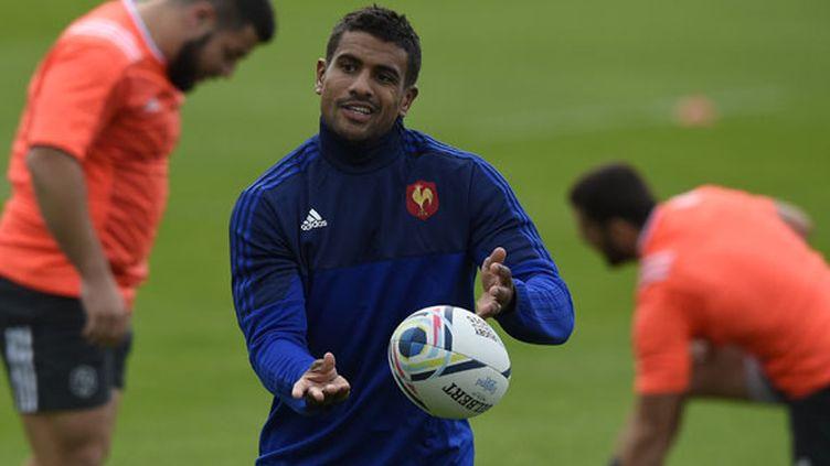 Le joueur du XV de France, Wesley Fofana