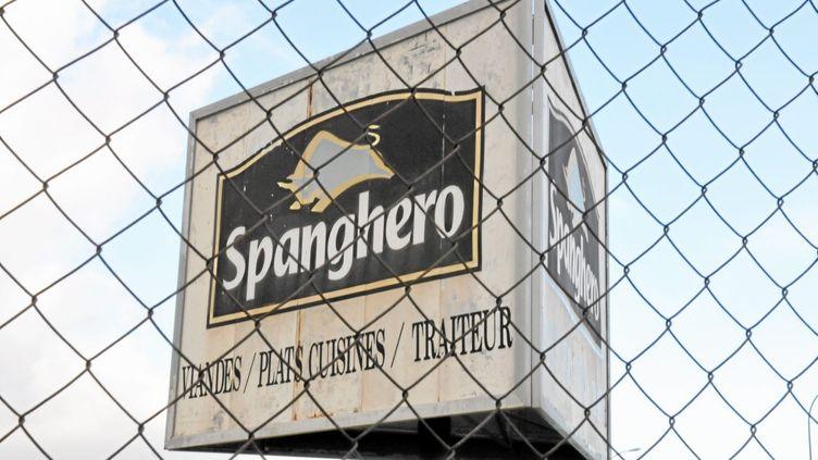L'entreprise de Castelnaudary (Aude) est une nouvelle fois mise en cause après la découverte de viande suspecte dans ses locaux, début mars 2013. (MAXPPP)